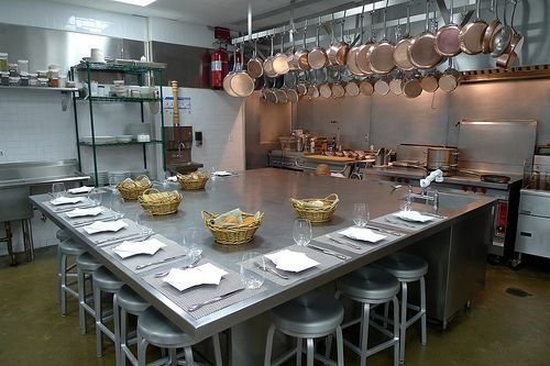 The Chef S Table Brooklyn Kitchen Chefs Table Restaurant Kitchen
