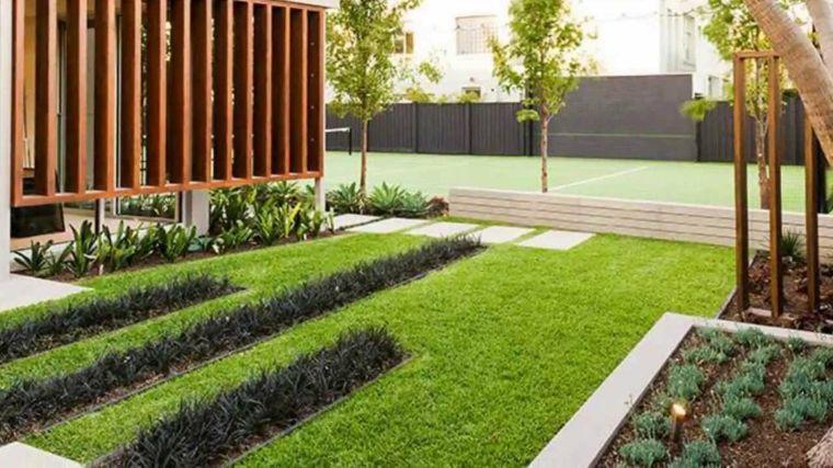 100 ideas para jardines minimalistas modernos e impresionantes