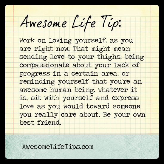 Be Your Own Best Friend Awesome Life Tip Stephenie Zamora Words Quotes Wise Words