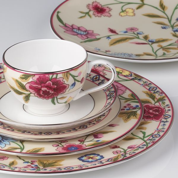 Scalamandre Bouvier 5-piece Dinnerware Place Setting by Lenox available at Jan's Perfect Presents