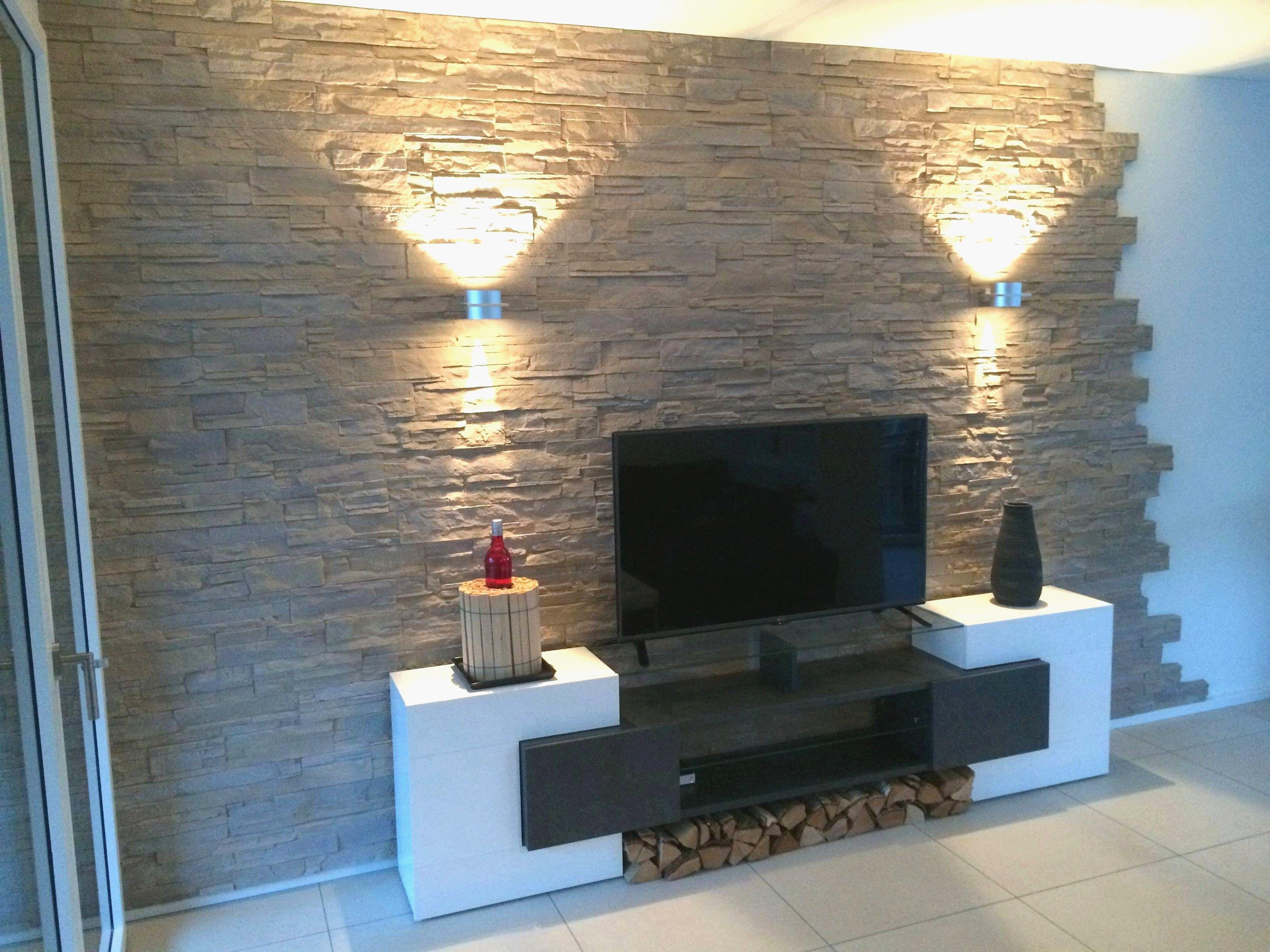 Wohnzimmer Deko Tapete Stone Wall Living Room Decorative Stone Wall Stylish Living Room
