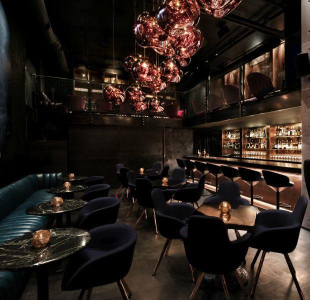 Lounge bar himitsu restaurant pinterest bar for Interior designs for lounges