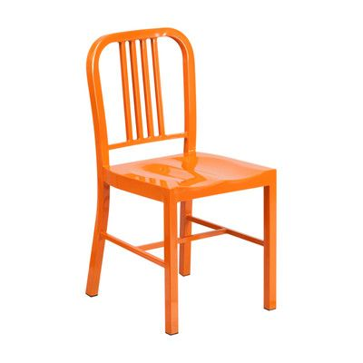 Offex Side Chair Finish: Orange
