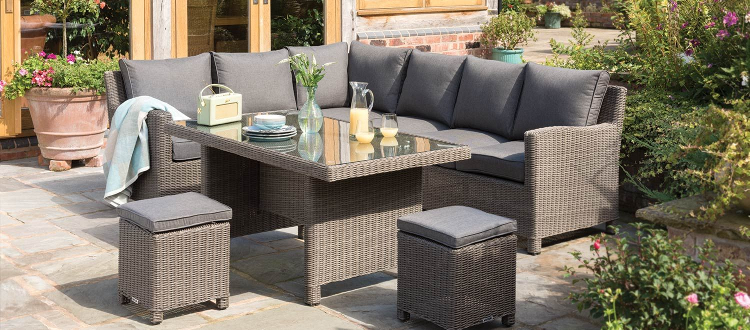 Palma Corner Set Rattan garden furniture, Patio