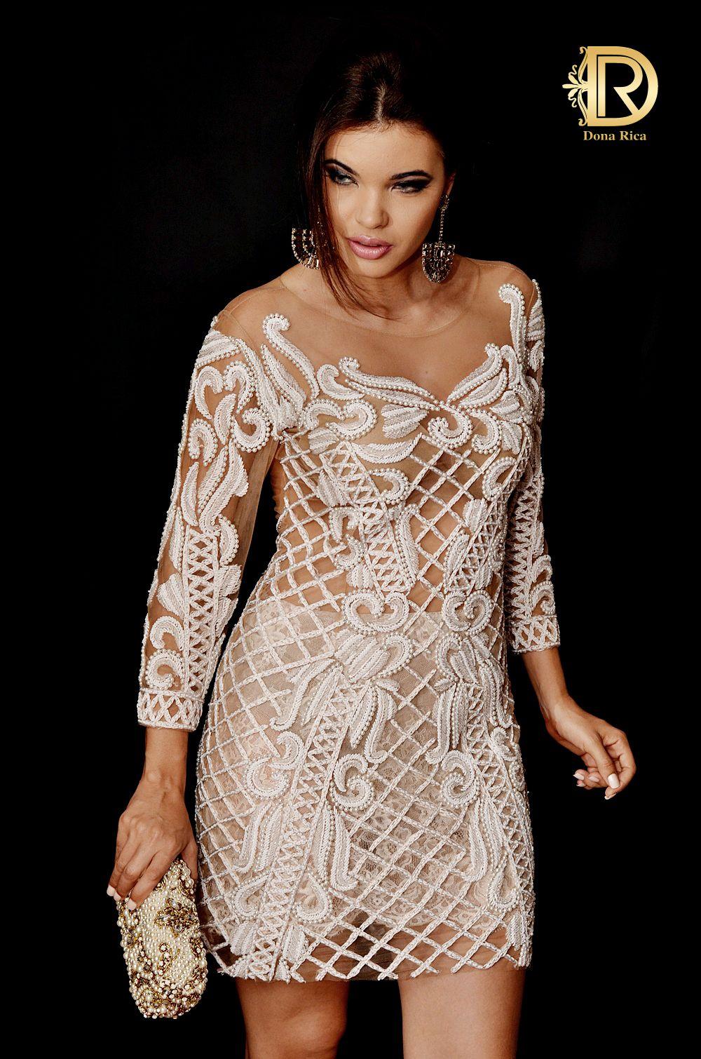 Patricia bonaldi by Dona Rica vestido branco luxo clutch perolas