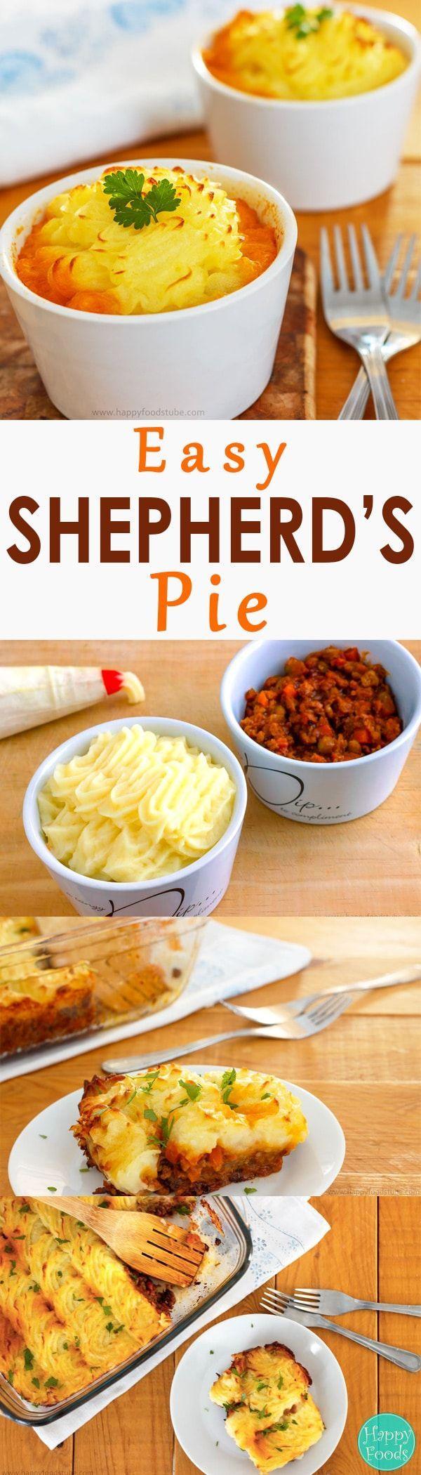 Easy Shepherd's Pie Recipe Recipes, Food, Comfort food
