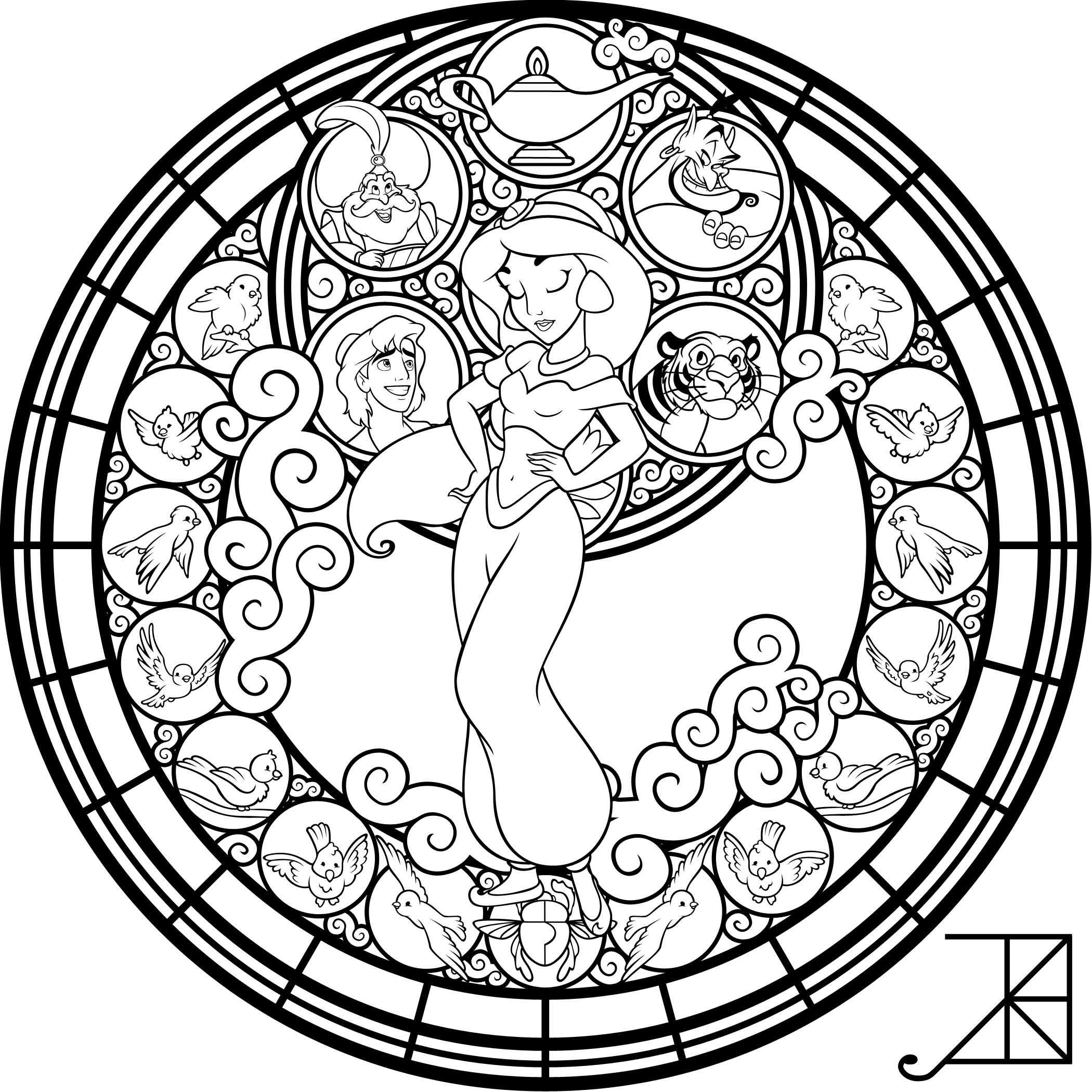 Coloring Pages Disney Coloring Pages Cool Coloring Pages [ 2100 x 2100 Pixel ]