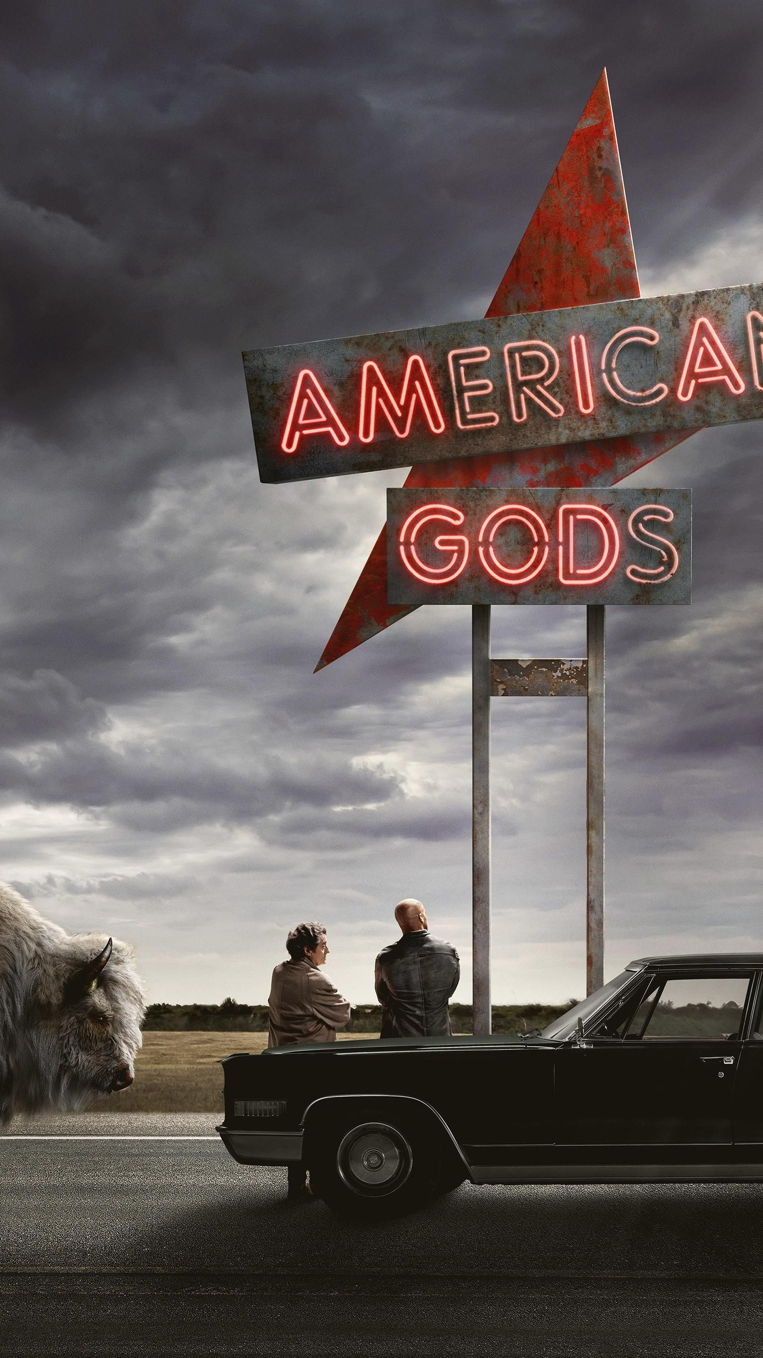 American Gods Phone Wallpaper Moviemania American Gods Sony Pictures Tv Series