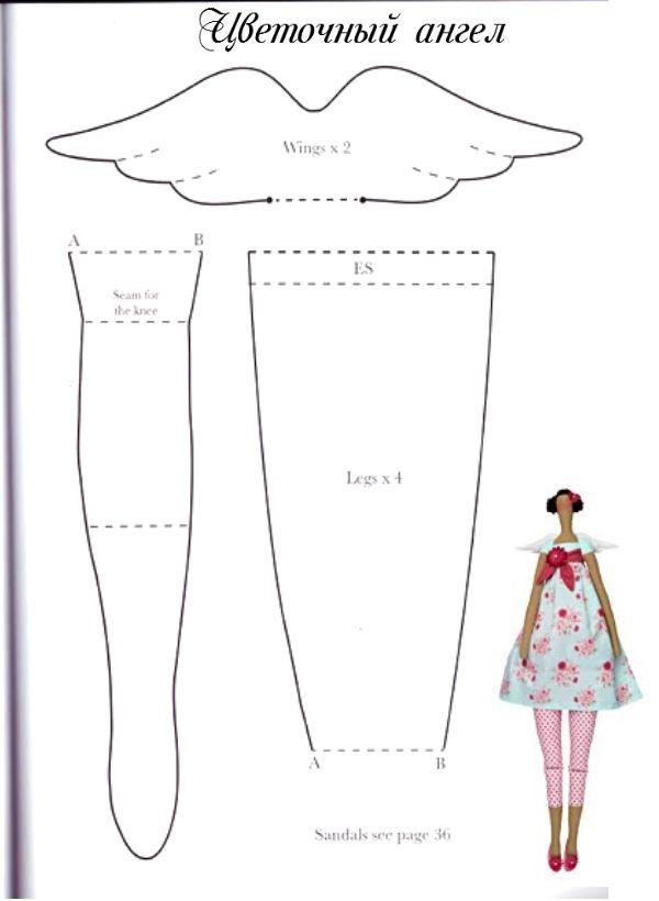 belindapatch: PATRON TILDA PRIMAVERA pt2 | Rag Dolls, Softies and ...