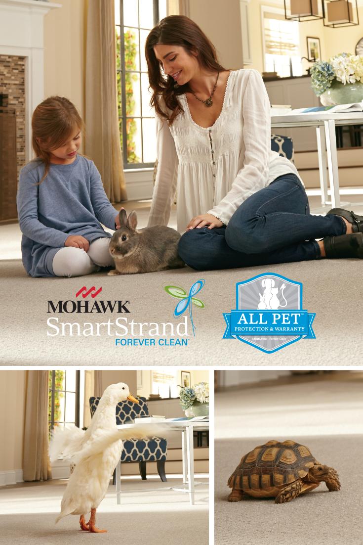 Mohawk Flooring's all new SmartStrand Forever Clean carpet
