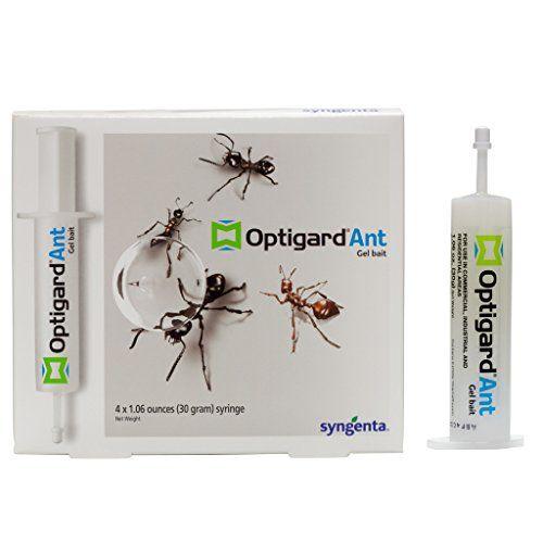 Optigard Ant Bait Gel Box Of 4 Tubes W Plunger 30 Grams Per Tube