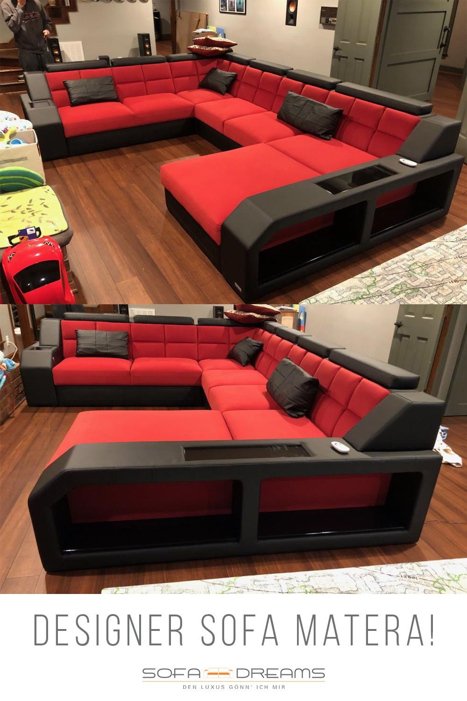 Stoff Wohnlandschaft Matera Xxl In 2020 Wohnzimmer Design Luxus