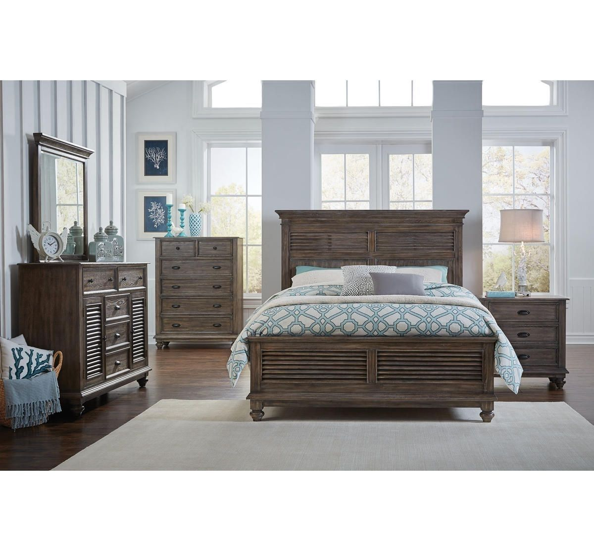 Picture Of Vista Pointe 5 Pc King Bedroom Group Bedroom Sets