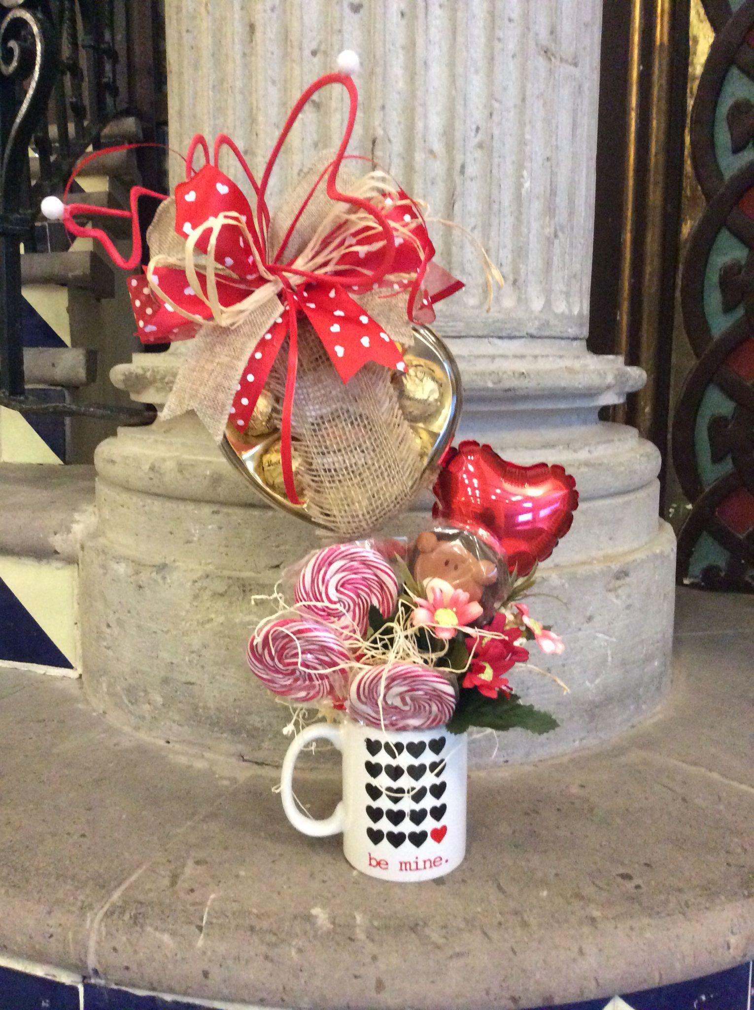 Arreglo taza para amor y amistad gift wrapping pinterest regalos regalos amor y amistad - Decoracion para regalos ...
