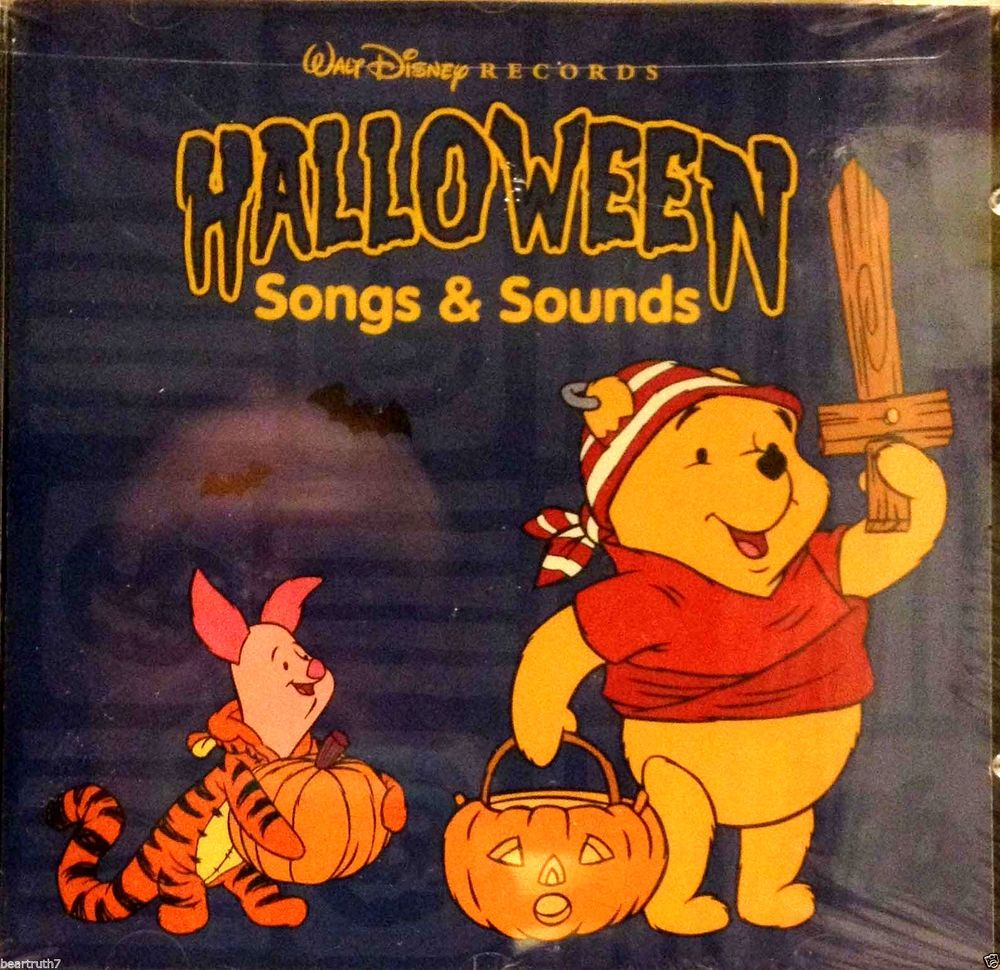 walt disney halloween songs sounds cd six spooky scenes in sound brand new halloween