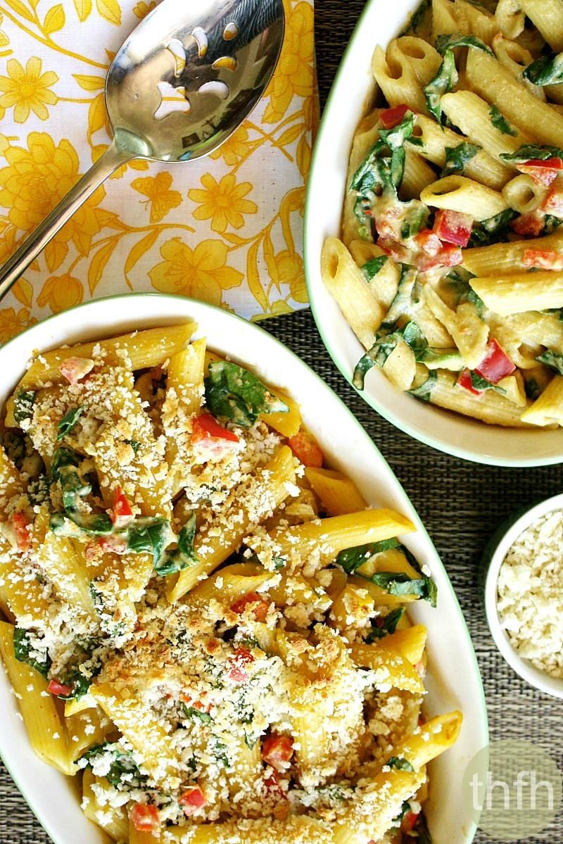 vegan-baked-penne-with-spicy-rose-sauce
