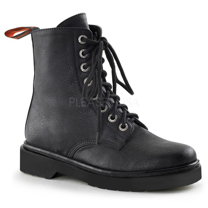 Women Military Lace Up Boots