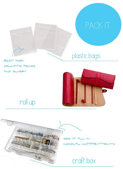 how to pack jewelry when traveling