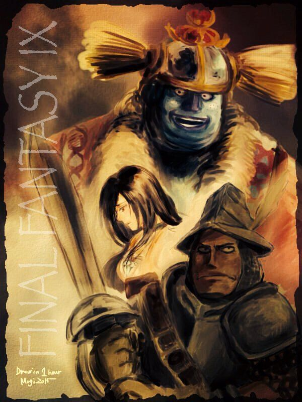 Steiner Garnet Brahne Final Fantasy IX #FFIX