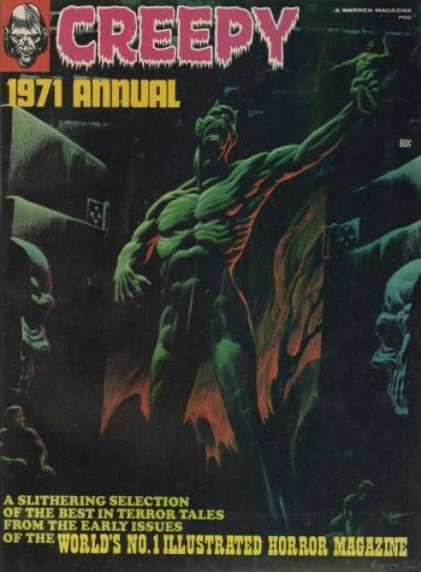 creepy annual 1971 - Google Search