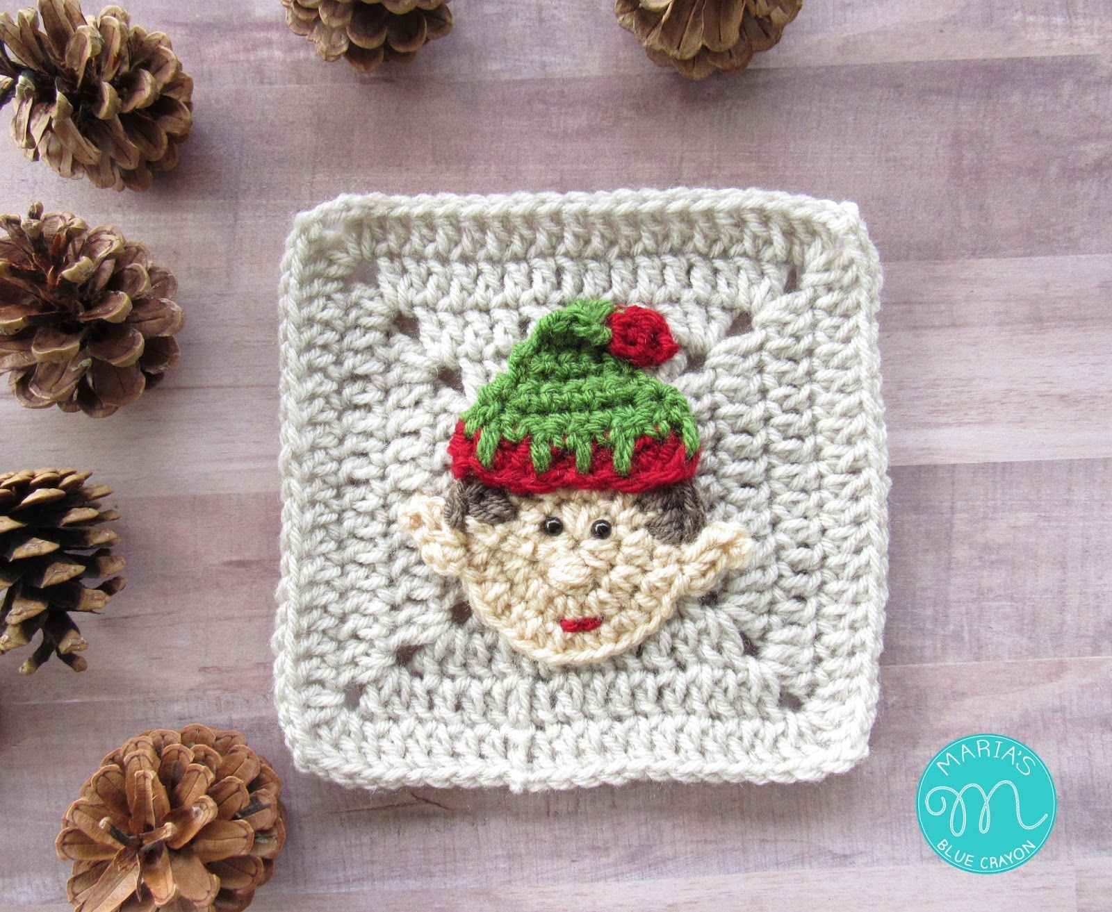 WEEK 7 - Christmas Granny Afghan CAL - Elf | Muestras de crochet ...