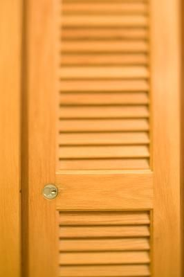 How To Replace Slats From Louver Doors With Panels House