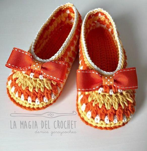57bea3016d6 Cómo hacer unas pantuflas para niñas de 3 a 4 años