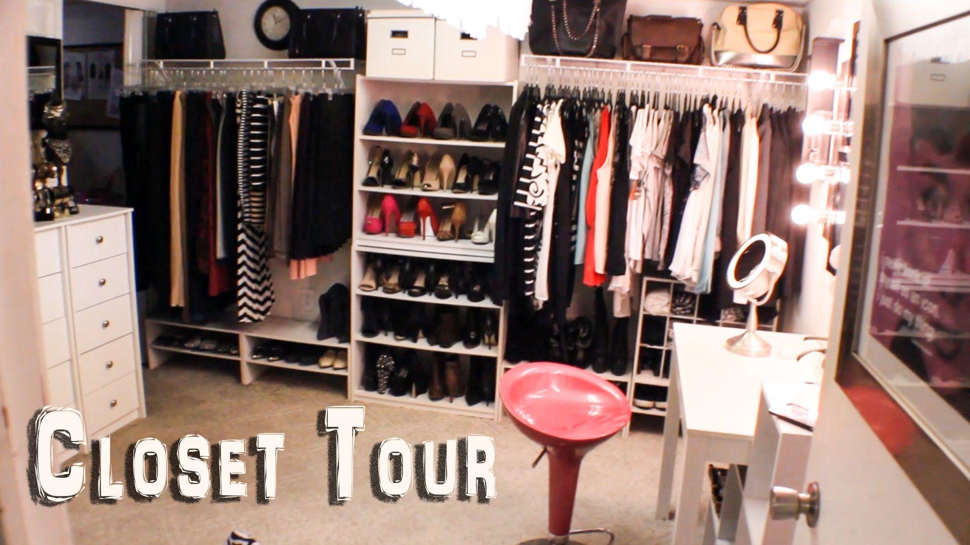 New Closet Tour + CLOSET SALE! (With images) | Closet tour ...