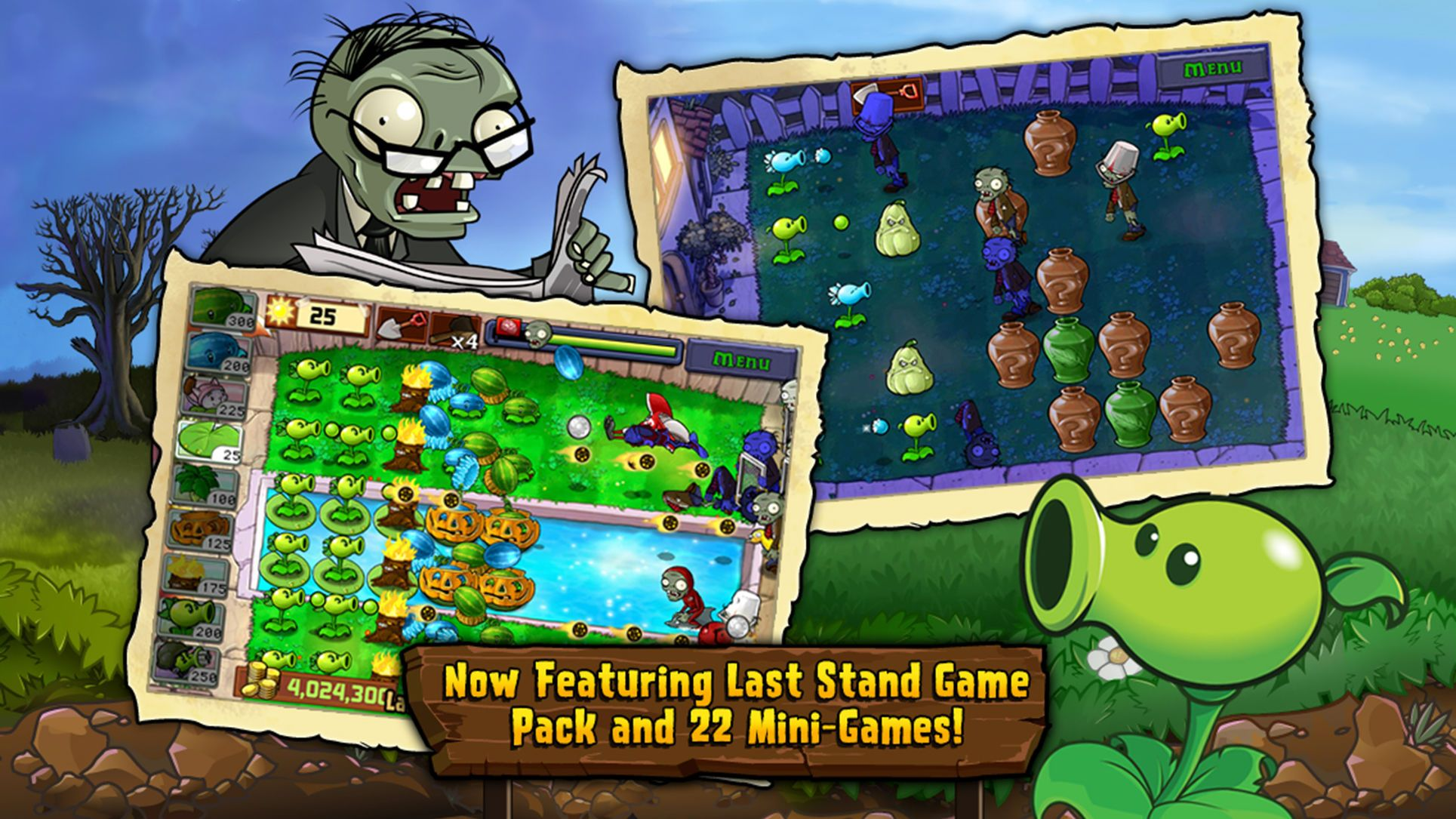 Plants vs. Zombies鈩?20ActionPuzzleappsios Android