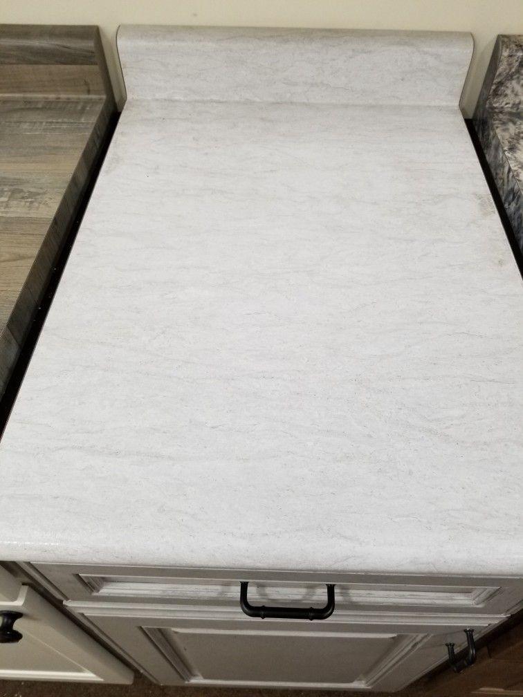 Wilsonart White Cascade Wilsonart Laminate Countertops