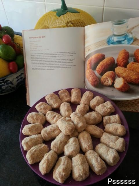La cocina de Pssssss: CROQUETAS DE PAN Y JAMON