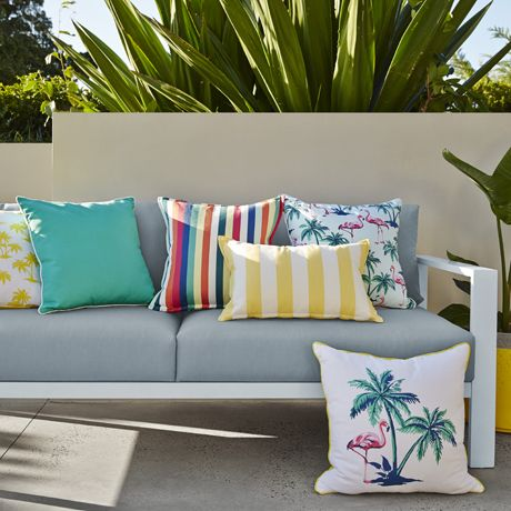 Flamingo Island Cushion 50x50cm Freedom Furniture And Homewares 34 95 Freedomaustralia Christm Freedom Furniture Furniture Packages Outdoor Sectional Sofa
