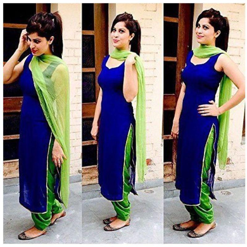 aa4bdabfe5 Indian Stylish Designer Punjabi Patiala Suit Salwar Kameez Dress Material  Women.