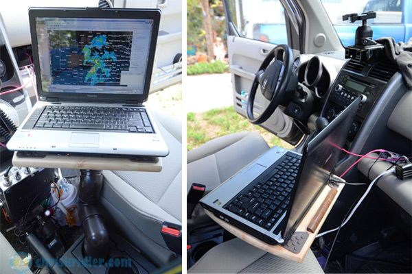 Laptop Mount Car Mounting Bracket Non-drilling Addition