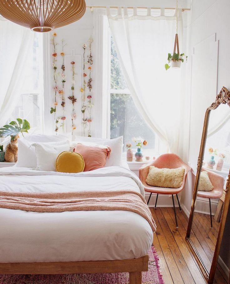 halverwege de eeuw ontmoet boho in een huis in brooklyn bedroom interiors ideas pinterest slaapkamer gezellige slaapkamer and interieur