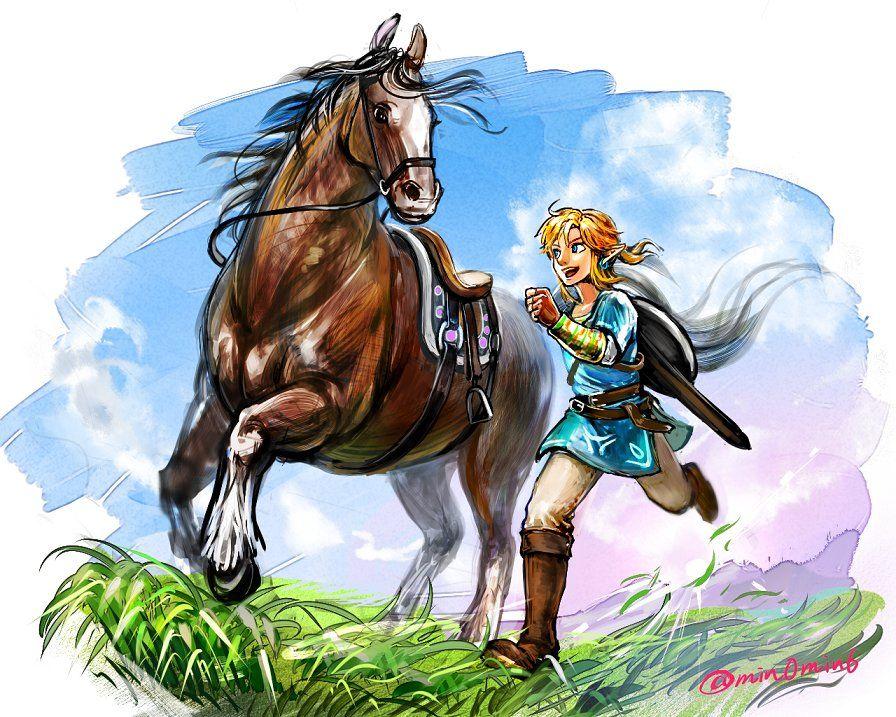 #pixiv #Zelda #ZeldaWiiU #ゼルダの伝説 #2017 #ZeldaBotW