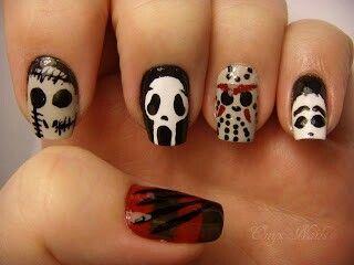 Horror Movie Nails Horror Nails Halloween Nails Glamorous Nails