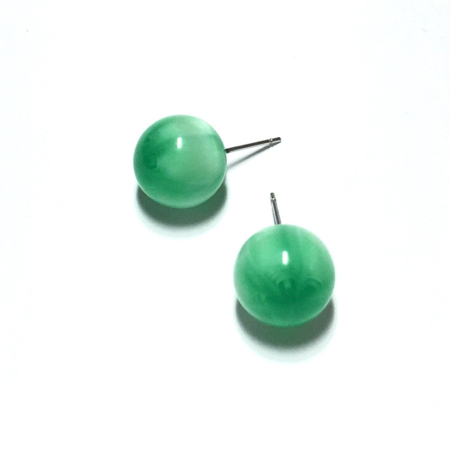 green white shop stones caellisar stud com stone with earrings emerald gold