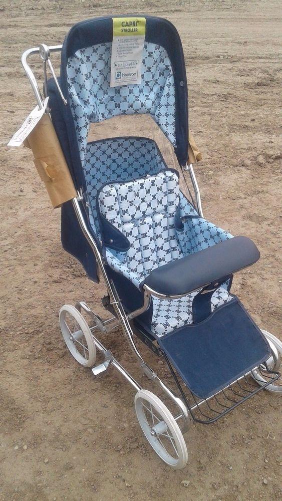 Stroller NOS Hedstrom stroller. Just assembled. Blue