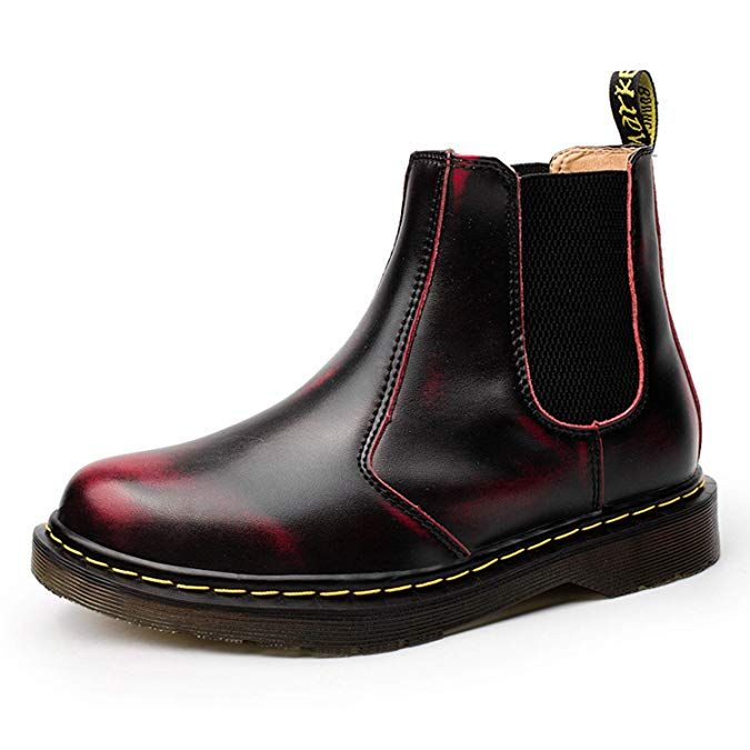 68d84f2e9c6d1d NASONBERG Herren Damen Chelsea Boots Kurz Stiefel Warme Gefüttert  Stiefeletten Winterschuhe