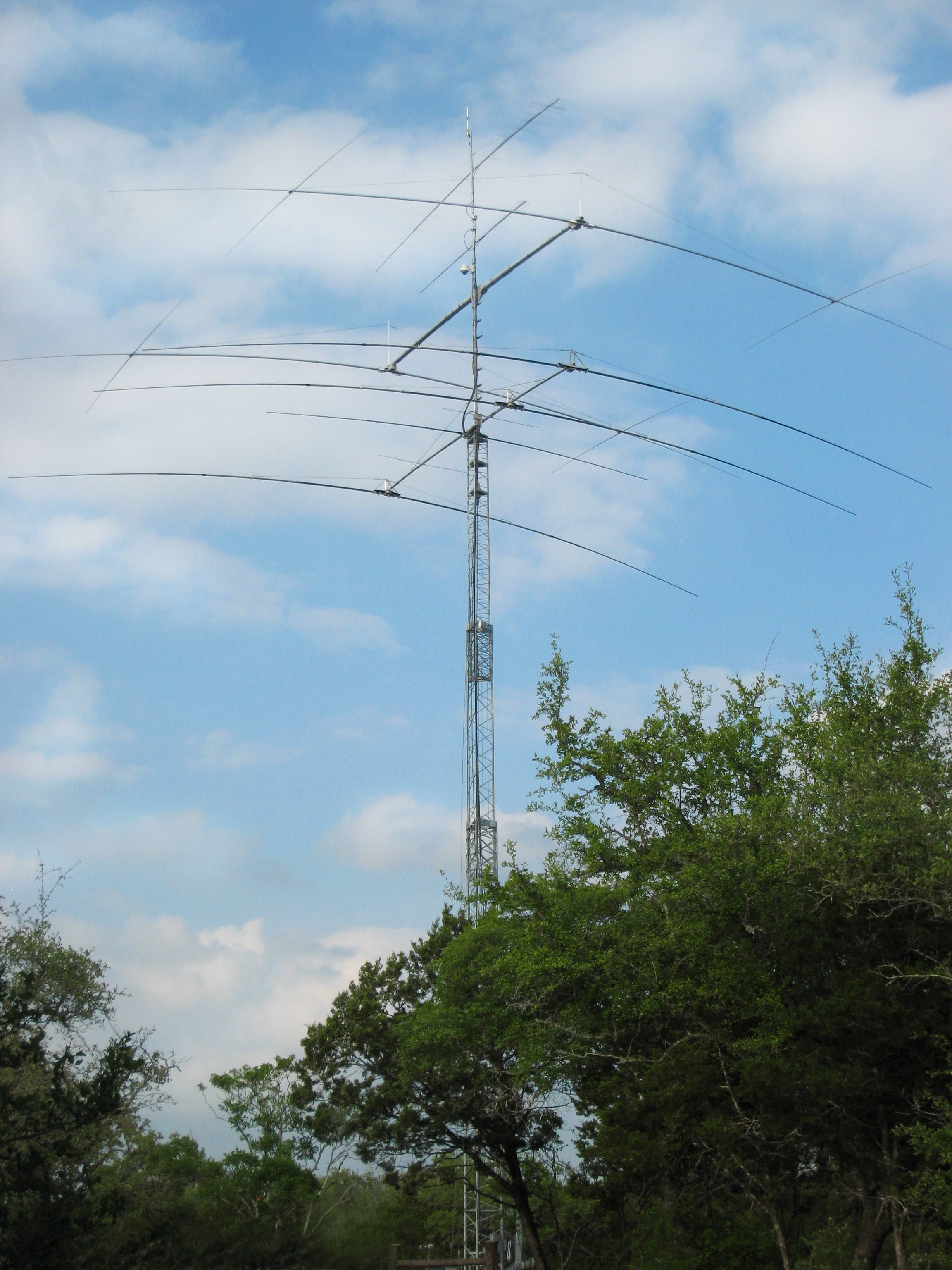Yes, this is the kind of Ham Radio Tower my Dad and Mom had and I ...