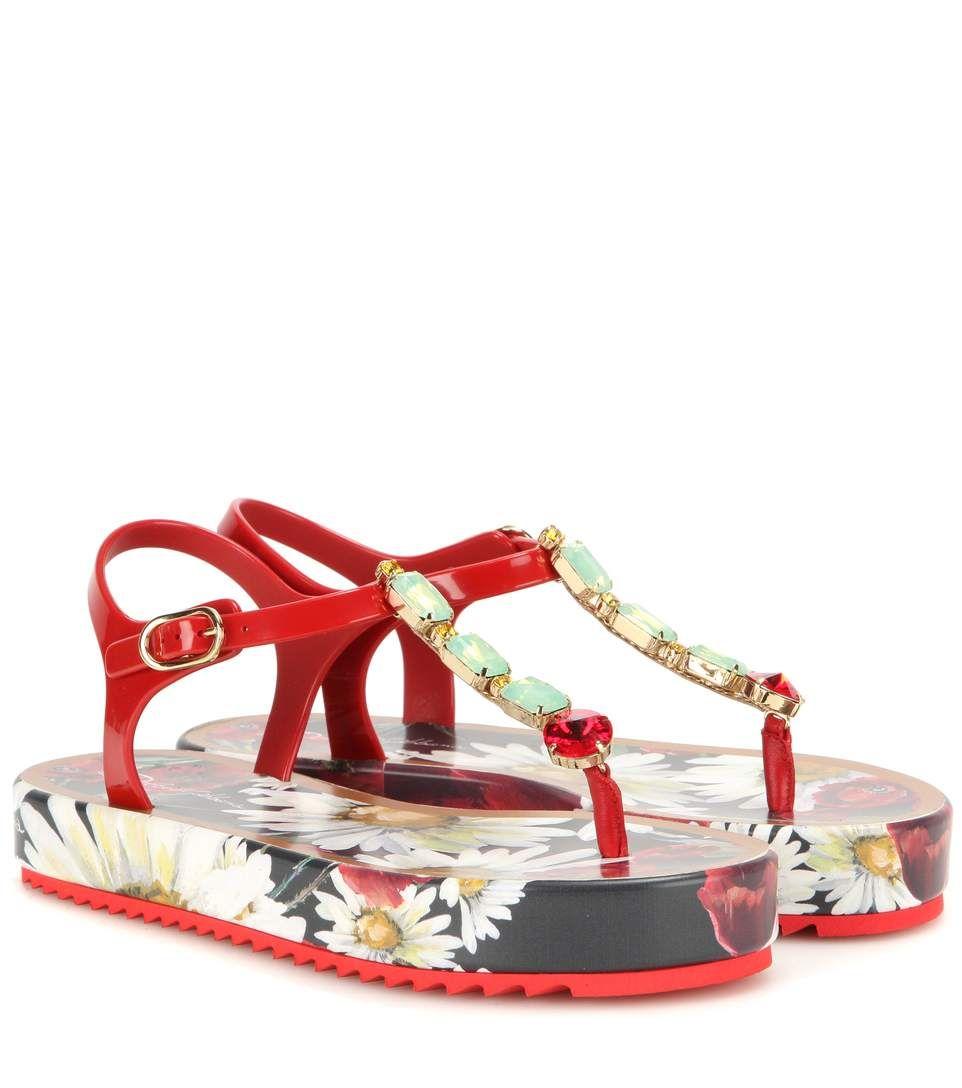 060b8ebb834c DOLCE   GABBANA Crystal-Embellished Sandals.  dolcegabbana  shoes  sandals