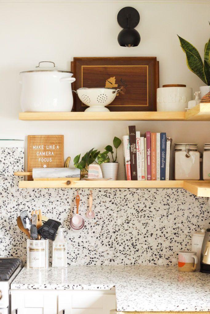 #terrazzo  #sustainabledesign #countertops #backsplash  terrazzo countertops and backsplash are a great option for sustainable kitchen design
