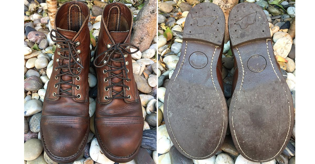 a374faa0bd6 Fade of the Day - Red Wing Iron Ranger 8111 (8 Years) | Heddels ...