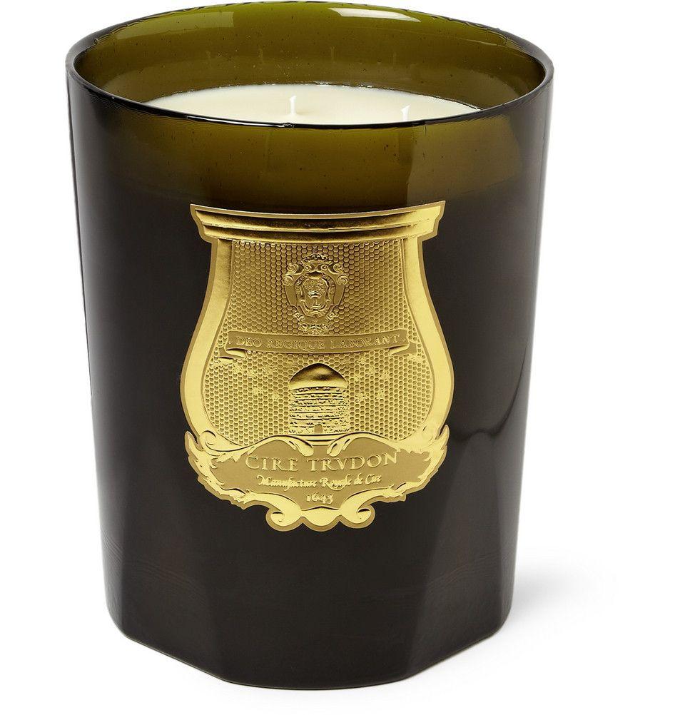 PRODUCT - Cire Trudon - La Grande Bougie Ernesto Tobacco and Leather Scented Candle - 420056 MR PORTER
