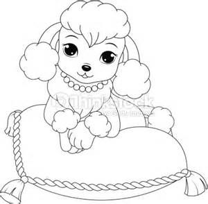 Poodles C Coloring Book Coloring Pages Puppy Coloring Pages Dog