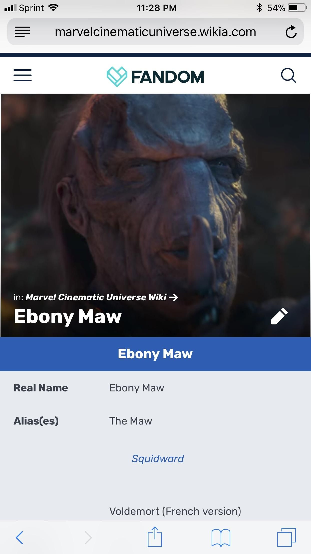 Why is Ebony Maws name Ebony Maw? | Cosplay goals | Marvel