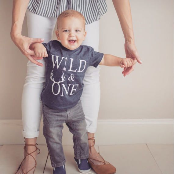 d7f6e91a5 Wild one birthday boy / one year old boy birthday outfit / wild and ...