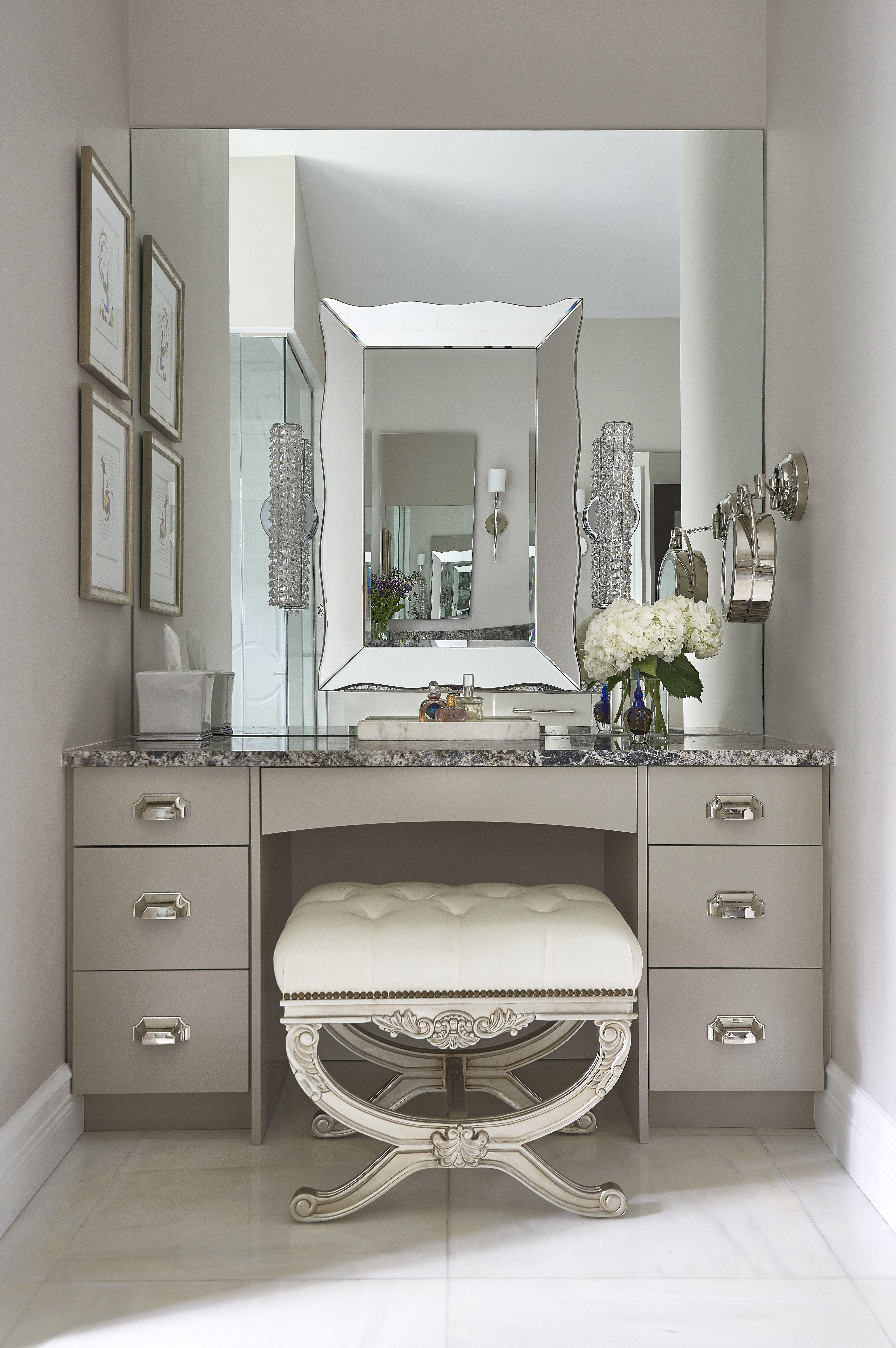 Dering Hall Mirror Lighting Dressing Table Design Home Makeup Room Design