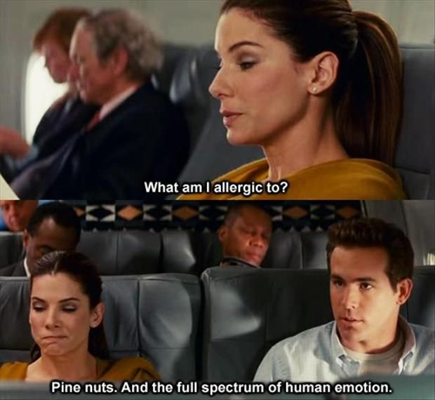 Funny Love Quotes From Movies Gorgeous What Am I Allergic To  The Proposal 2009  Movie Quotes